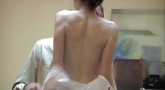 sexy russian girl gets bitchy in office - cam-sluts.com