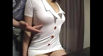 Hairy Japanese D/s gets fucked on cam