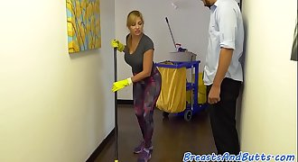 Busty housewife fucked doggystyle