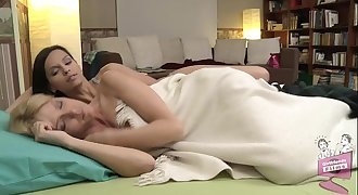 Sophie Moone and Eve Angel Lesbian Escapade
