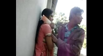 Most Real Indian Youthful Bengali couple enjoying such at outdoor With bangla audio - Wowmoyback