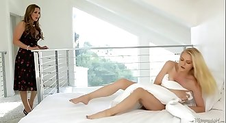Babysitter caught on masturbating - Tanya Tate, Alli Rae